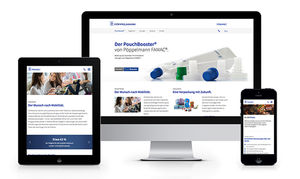 Responsive Microsite PouchBooster