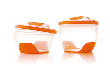 Household containers.